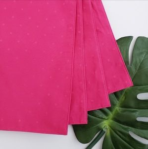 SALE! NWT KATE SPADE SET OF 4 LPINK PLACEMATS